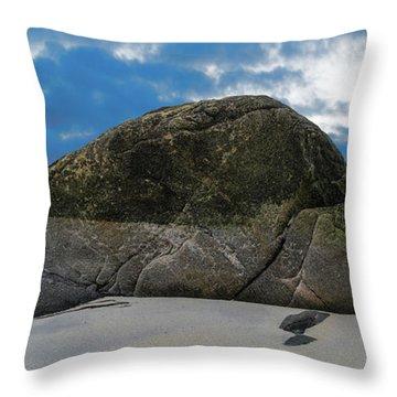 Beach Details Throw Pillow