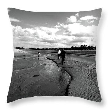 Throw Pillow featuring the photograph Beach by Edward Lee