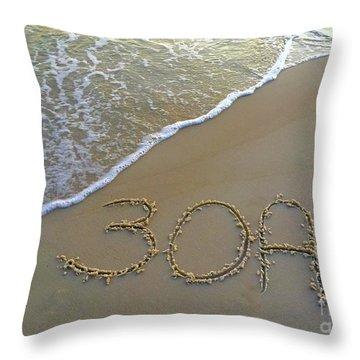 Beach Happy 2 Throw Pillow