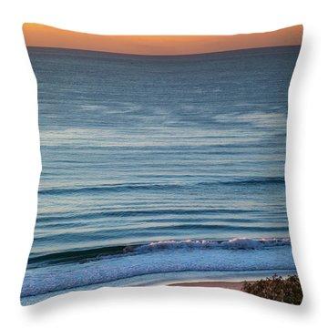 Beach Moods Throw Pillow
