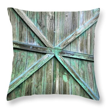 Beach Weathered Throw Pillow