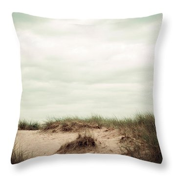 Throw Pillow featuring the photograph Beaches by Michelle Wermuth