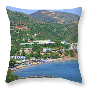 Beaches Of Bali Throw Pillow