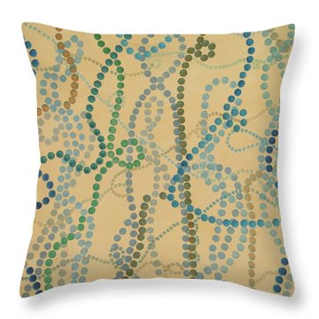Bead And Pearls - Trendy Throw Pillow