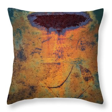 Beam Me Up Throw Pillow