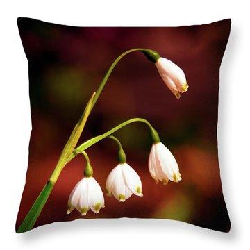Beautiful Bells Throw Pillow