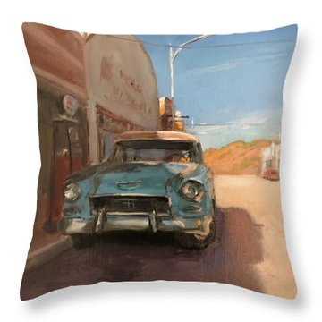 Beautiful Downtown Lowell, Arizona Throw Pillow