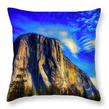 Beautiful El Capitan Throw Pillow