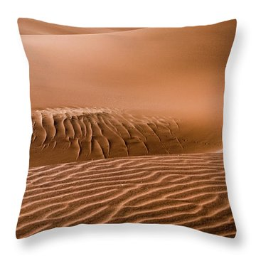 Beautiful Namib Desert 2 Throw Pillow