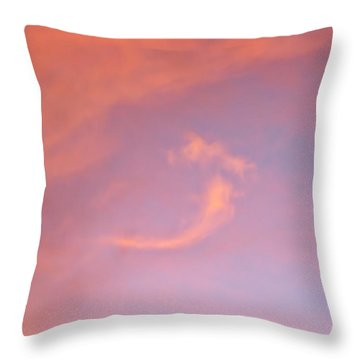 Beautiful Serpentine Sylph 2 Throw Pillow