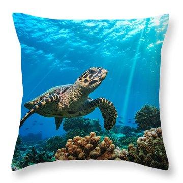 Sealife Throw Pillows