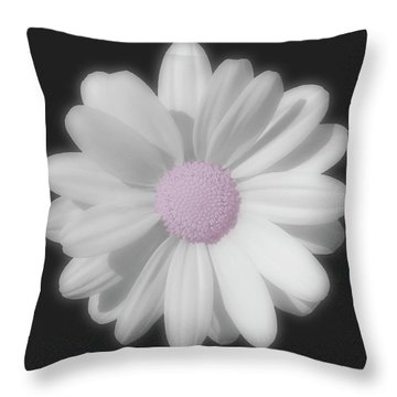 Throw Pillow featuring the photograph Beautiful White Summer Memory by Johanna Hurmerinta