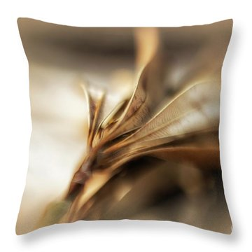 Beauty In Dying Throw Pillow