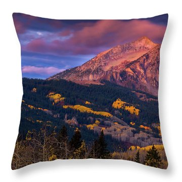 Beckwith At Sunrise Throw Pillow