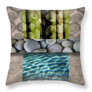 Throw Pillow featuring the photograph Becoming I by Mark Shoolery