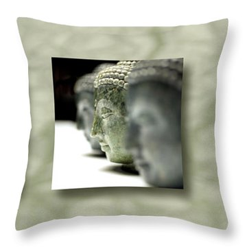 Throw Pillow featuring the photograph Becoming IIi by Mark Shoolery