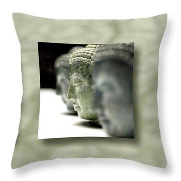 Becoming IIi Throw Pillow