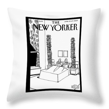 Bedtime Stories Throw Pillow