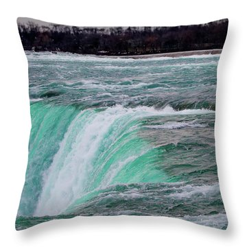 Before The Falls Throw Pillow