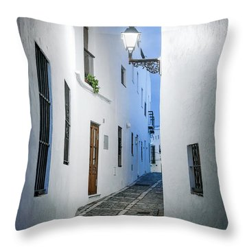 Before The Night Ends Throw Pillow