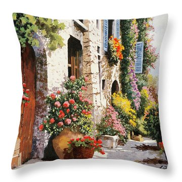Bella Strada Numeo Otto Throw Pillow