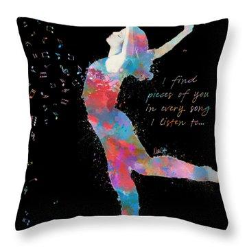 Beloved Deanna On Dark Throw Pillow