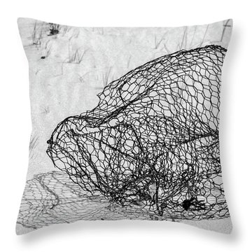 Bent And Twisted Throw Pillow
