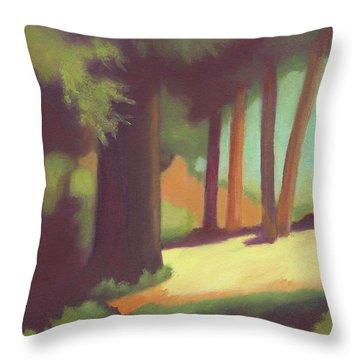 Berkeley Codornices Park Throw Pillow