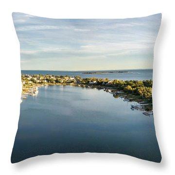 Bermuda Lagoon  Throw Pillow