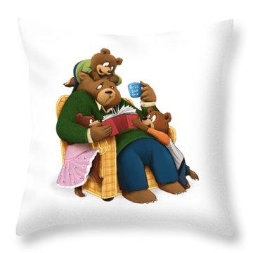 Best Dad Ever Throw Pillow