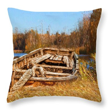 Better Times Throw Pillow