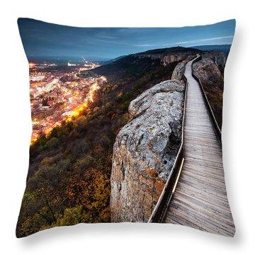 Between Epochs Throw Pillow