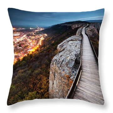 Between Epochs Throw Pillow