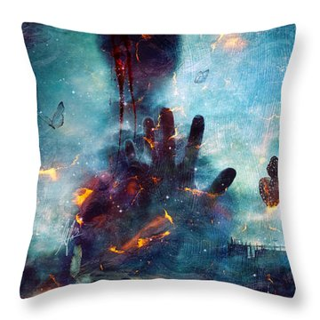 Recently Sold -  - Help Throw Pillows