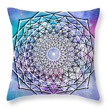 Throw Pillow featuring the digital art Big Bang by Bee-Bee Deigner