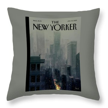 Big City Throw Pillow