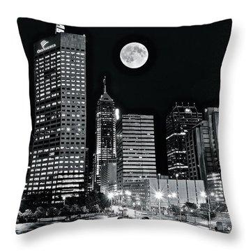 Big Moon Indianapolis 2019 Throw Pillow