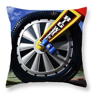 Big Wheel At Pop Century Throw Pillow