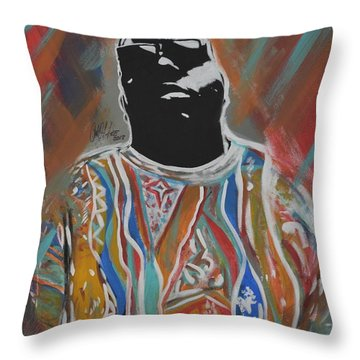 Biggest Poppa Throw Pillow