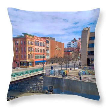 Binghamton Art Throw Pillow
