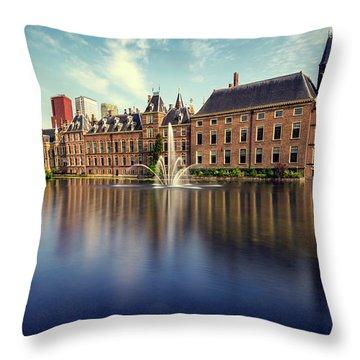 Binnenhof, The Hague Throw Pillow