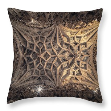 Bishop West's Chapel Throw Pillow