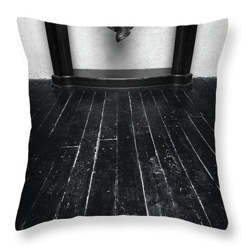 Black Shoes #9397 Throw Pillow