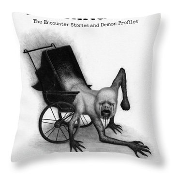 Blackhaven The Encounter Stories And Demon Profiles Bookcover, Shirts, And Other Products Throw Pillow