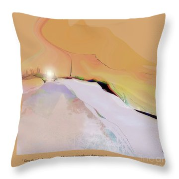 Blessings For All No. 1 Throw Pillow