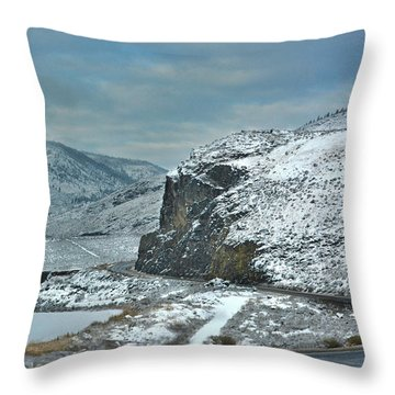 Blind Corner Throw Pillow