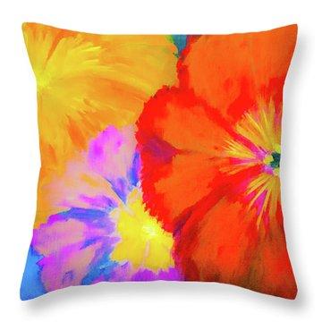 Bloom 2 Throw Pillow