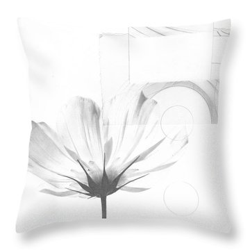 Bloom No. 10 Throw Pillow