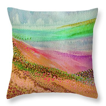 Blooming 1001 Throw Pillow
