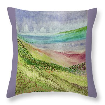 Blooming 1002 Throw Pillow